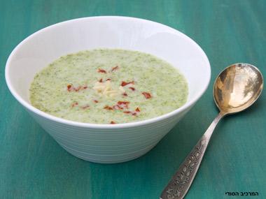מרק ברוקולי מוקרם