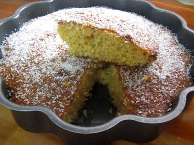עוגת סולת קלה להכנה