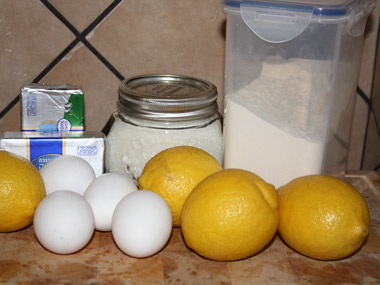 טארט עם קרם לימון ומרנג