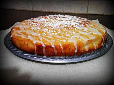 עוגת חמאה, רוויון וסוכר חום