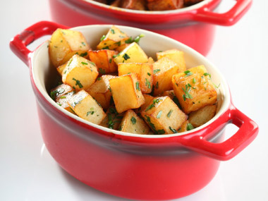 תפוחי אדמה בכורכום