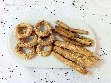 עוגיות מלוחות בלי גלוטן