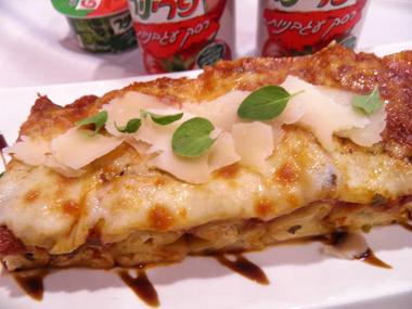 קנלוני גבינות ברוטב עגבניות