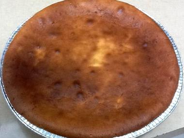 עוגת גבינה אפויה קלה להכנה