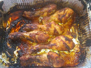 שוקי עוף במיונז אפויים בתנור