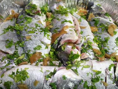 דג דניס אפוי בתנור