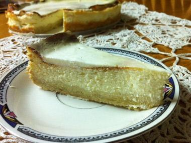 עוגת גבינה ללא גלוטן ביתית וטעימה