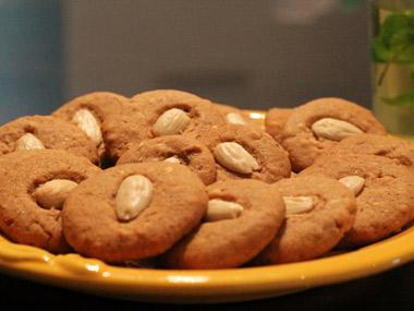 עוגיות שקדים ריחניות