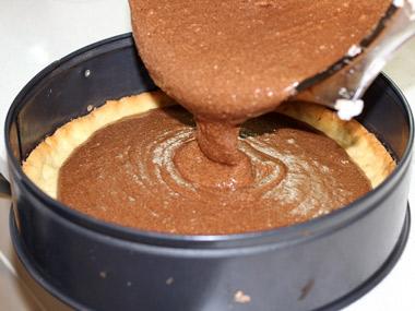 פאי מוס שוקולד קפה