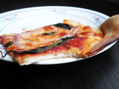 פיצה דקה ביתית