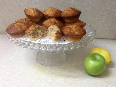 מאפינס תפוח בדבש