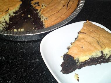 עוגת ספירלה שוקו וניל