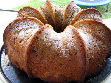עוגת דבש עם צימוקים