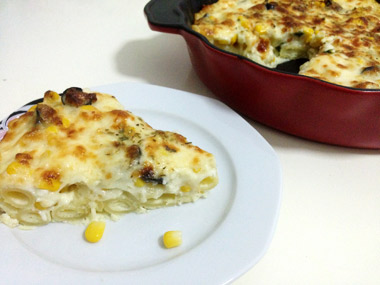 פשטידת פסטה עם גבינות