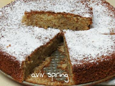 עוגת קוקוס ושמנת