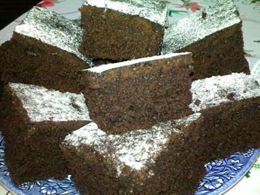 עוגת שוקולד קקאו