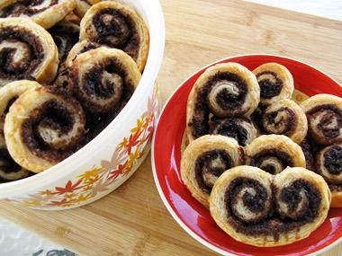 עוגיות אוזני פיל בטעם קקאו