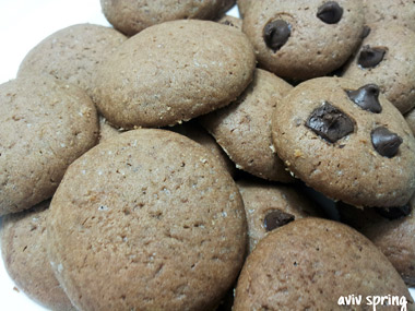 עוגיות חמאה ושוקולד