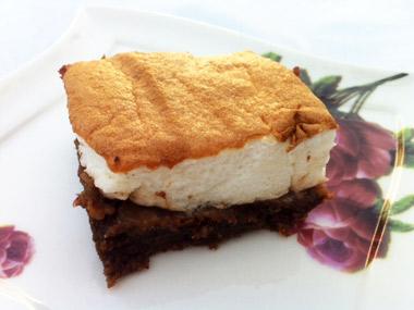 עוגת שוקולד עם קצף ללא גלוטן