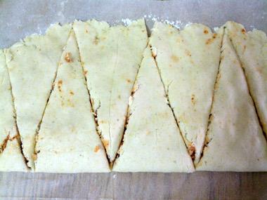 משולשי פיצה ללא גלוטן ושמרים