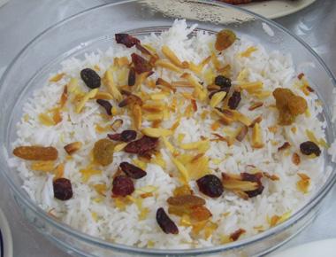 אורז בסמטי לבן
