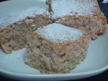 עוגת סולת ותפוחים