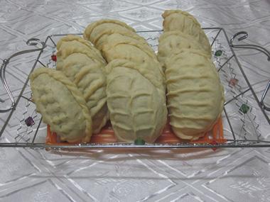 גוצ`ירגי - מאפה ממולא אגוזים