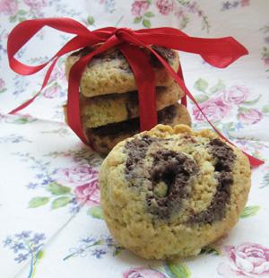 עוגיות עם תפוזים ושוקולד