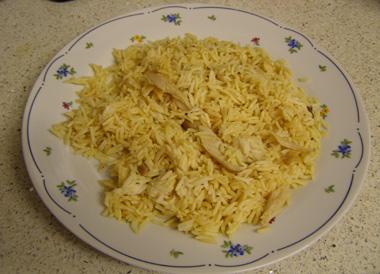 אורז עם נתחי עוף