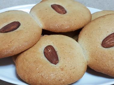 עוגיות שקדים ללא גלוטן (מתאימות גם לפסח)