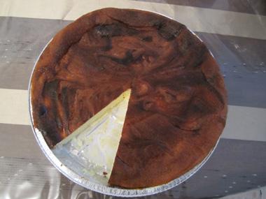 עוגת גבינה בטעם וניל