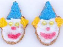 עוגיות ליצן טבעוניות מקמח כוסמין מלא