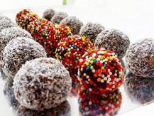 כדורי שוקולד פשוטים וטעימים