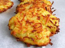 לביבות תפוחי אדמה אפויות בתנור