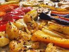 ירקות צלויים בתנור שכולם אוהבים