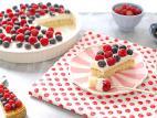 עוגת פירות יער דיאטטית
