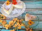 עוגת גבינה גבוהה וקלילה