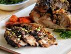שוק טלה בתנור עם ירקות