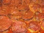 חצילים וקישואים ממולאים בשר ברוטב אדום