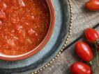 מרק עגבניות עם אמרנט
