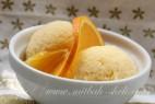 גרניטה עם תפוזים ולבנדר