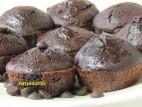 מאפינס שוקולד, אגוזים ופצפוצי שוקולד
