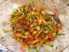 סלט ירקות ברוטב