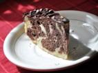 עוגת שיש בציפוי טופי שוקולד