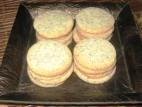 עוגיות חמאה עם פרג