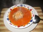 מרק שעועית חורפי
