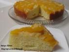 עוגת אפרסקים הפוכה