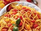 ספגטי עם עגבניות שרי