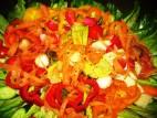 סלט ירקות בריא