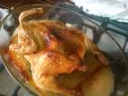 עוף עם מלח גס